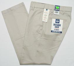 Dockers #10285 NEW Men's Flat Front Straight Fit Signature K