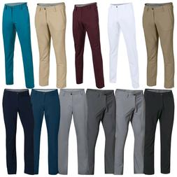 2018 Under Armour Mens Match Play Tapered Leg Trousers - Gol