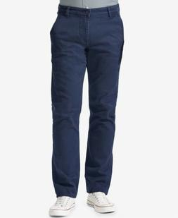 $245 DOCKERS Men BLUE SLIM TAPERED FIT STRETCH CASUAL CHINO