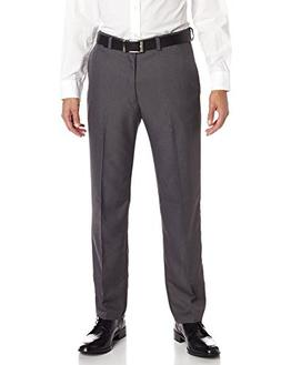 Haggar 41114276498 Men's Cool 18 Heather Solid Pant, Heather
