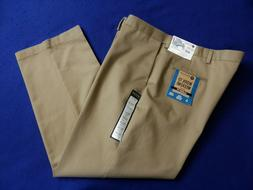 44 x 30 Tan HAGGAR WORK TO WEEKEND Classic No Iron Cotton Pa