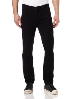Levi's Men's 511 Slim Fit Jean, Black - Stretch, 34W x 32L