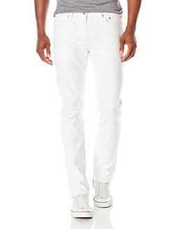 Levi's Men's 511 Slim Fit Jean, White, 28x32