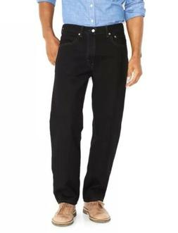 Levi's Men's 550 Relaxed-fit Jean, Black, 34X32