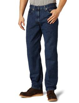 Levi's Men's 550 Relaxed Fit Jean, Dark Stonewash, 40x29