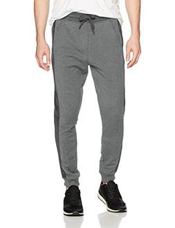 Calvin Klein Jeans Men's Velour Fleece Logo Sweatpants, Peri