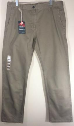 DOCKERS Alpha Khaki Slim Tapered Pants NWT Men's 36/30 MSRP