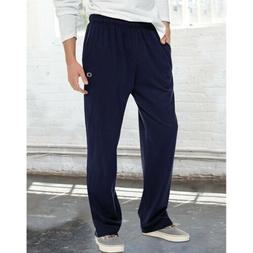 Champion Authentic Men's Open Bottom Cotton Jersey Pants - 5
