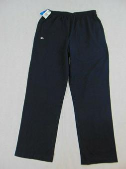 Champion Authentic Men's Open Bottom Jersey Pants New Navy b