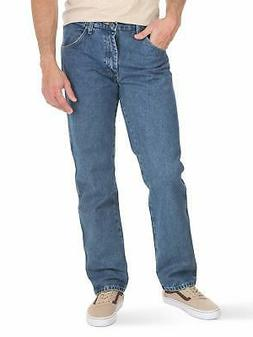 Wrangler Mens Authentics Classic Regular-Fit Jean, Stonewash