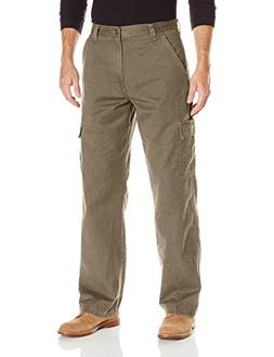 Wrangler Authentics Men's Classic Twill Relaxed Fit Cargo Pa