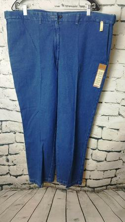 Haggar Big & Tall Classic Fit  Blue Jeans