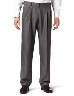 Haggar Men's Cool 18 Heather Solid Pant - Regular - 38W x 29