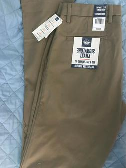 Dockers Big Tall Lux Cotton Stretch Signature British Khaki
