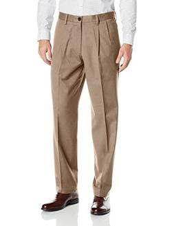 Dockers Men's Big and Tall Signature Khaki Pleated Pant, Tim