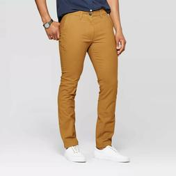 Goodfellow & Co Men's Skinny Fit Chino Pants - Brown Decaf -