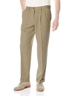 Dockers Men's Comfort Stretch Khaki Classic-Fit Pleated Pant