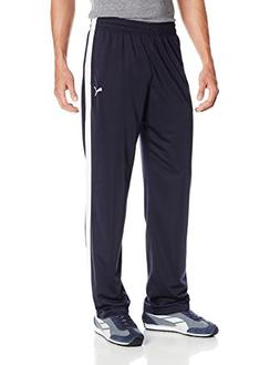 PUMA Men's Contrast Pant, New Navy, Medium