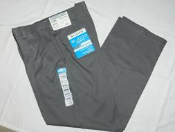 Haggar Cool 18 Pro Pants Classic Pleated Expandable Waist St