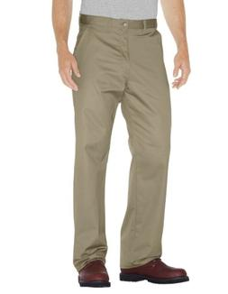 Dickies Drop Ship 8 oz. Relaxed Fit Cotton Flat Front Pant -