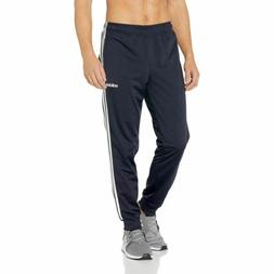 Mens Adidas Essentials 3-Stripes Tapered Tricot Pants