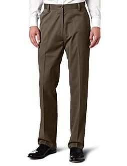 Dockers Men's Easy Khaki D3 Classic Fit Flat-Front Pant, Umb