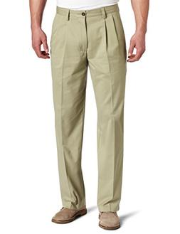 Dockers Men's Easy Khaki D3 Classic Fit Pleat Pant, After Da