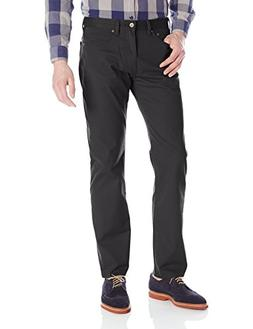 Dockers Men's Jean Cut Straight Fit Pant, Black , 42x30