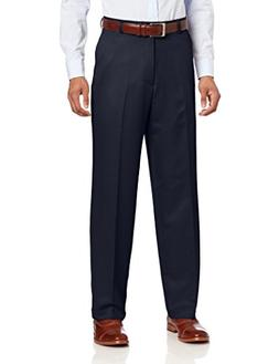 IZOD Men's Flat Front Classic Fit Microsanded Golf Pant, Mid