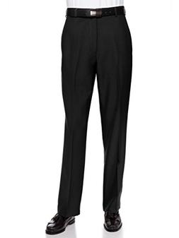 RGM Men's Flat Front Dress Pant Modern Fit - Perfect for Off