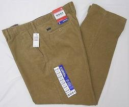 Izod Men's Flat Front Straight Fit Corduroy Pants - 40W x 32