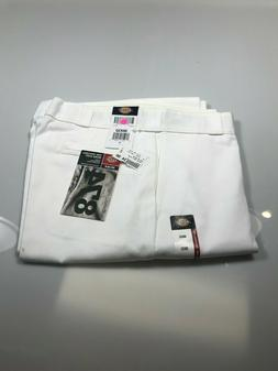 Genuine Dickies Men's Original Work pants, 36x32, White,