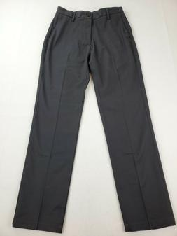 GOODTHREADS Gray Mens Size 28X32 Straight Chino Flat Front P