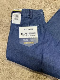Haggar Men's Denim Jeans 34 waist x 30 Inseam Classic Fit Pr