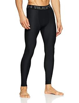 Under Armour Men's HeatGear Armour Compression Leggings, Bla