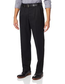 Dockers Men's New Iron Free D3 Classic Fit Pleated-Cuffed Pa