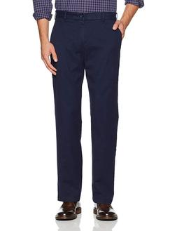IZOD Men's Performance Stretch Classic Fit Flat Front Chino