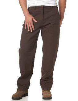 Carhartt Jeans Double Front Duck Dungaree Pants B136DKB - Br