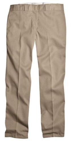 Dickies 874KH 36 29 Mens Plain Front Work Pant Khaki 36 - 29