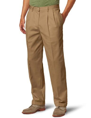 american chino pleated pant