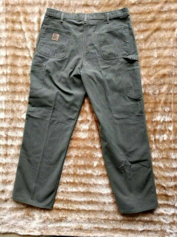 Carhartt MOS Green Carpenter Work Dungaree