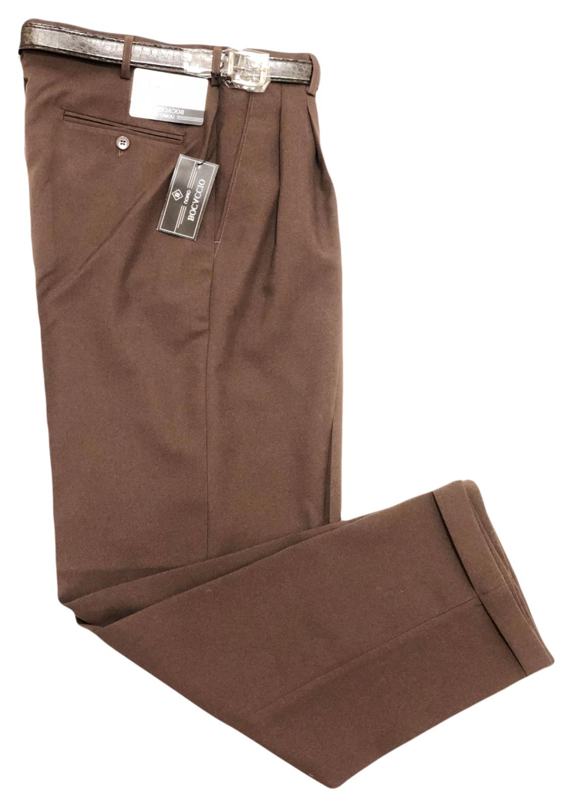Big and Tall Mens Pants Pleated - Size 44 70