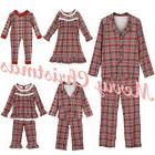Christmas Family Match Clothes Women Man Toddler Baby Top Pa