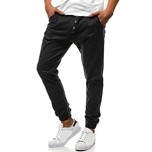 Colmkley Casual Gym Trainning Pants Sweatpants Color