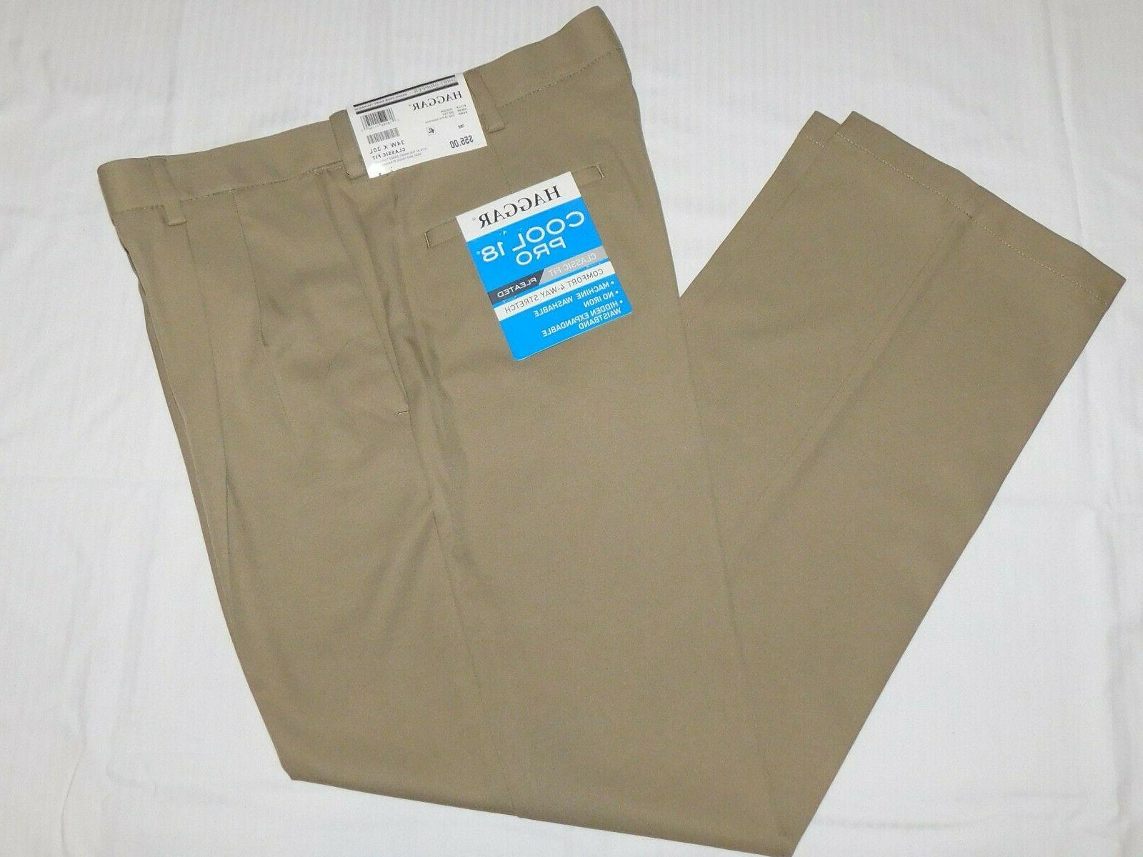 cool 18 pro pants classic pleated expandable