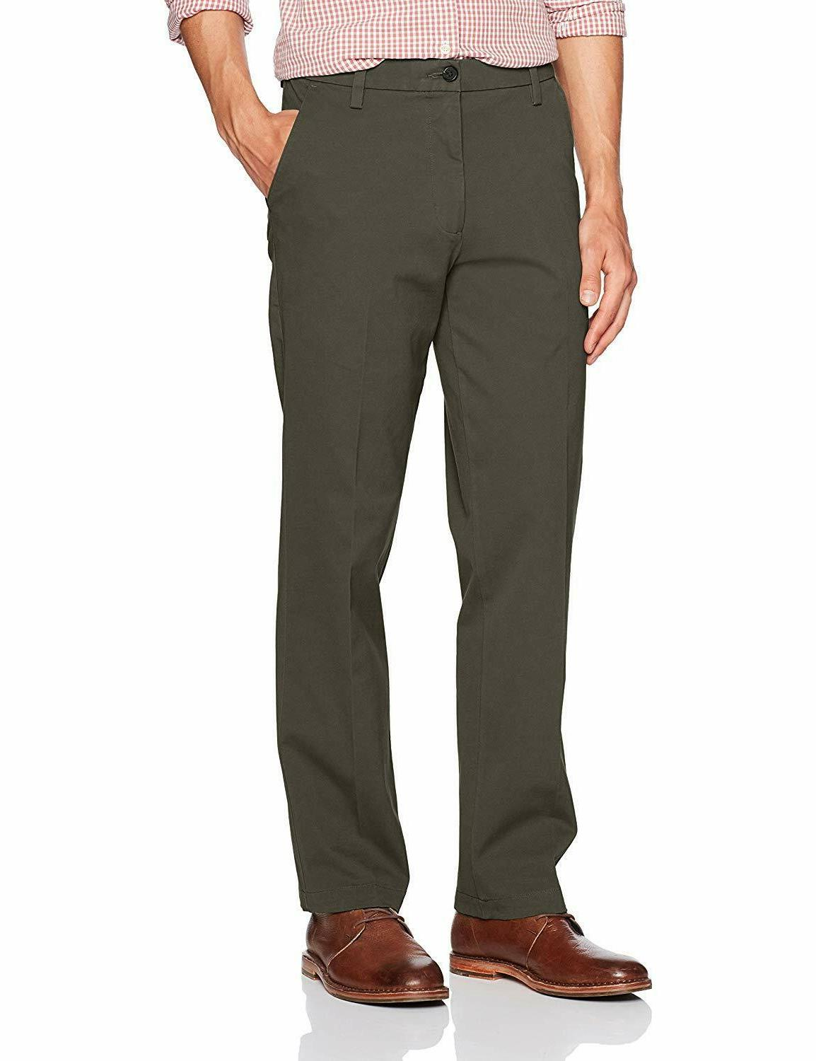 Dockers Mens Straight Fit Workday Khaki Pants Smart 360 Flex