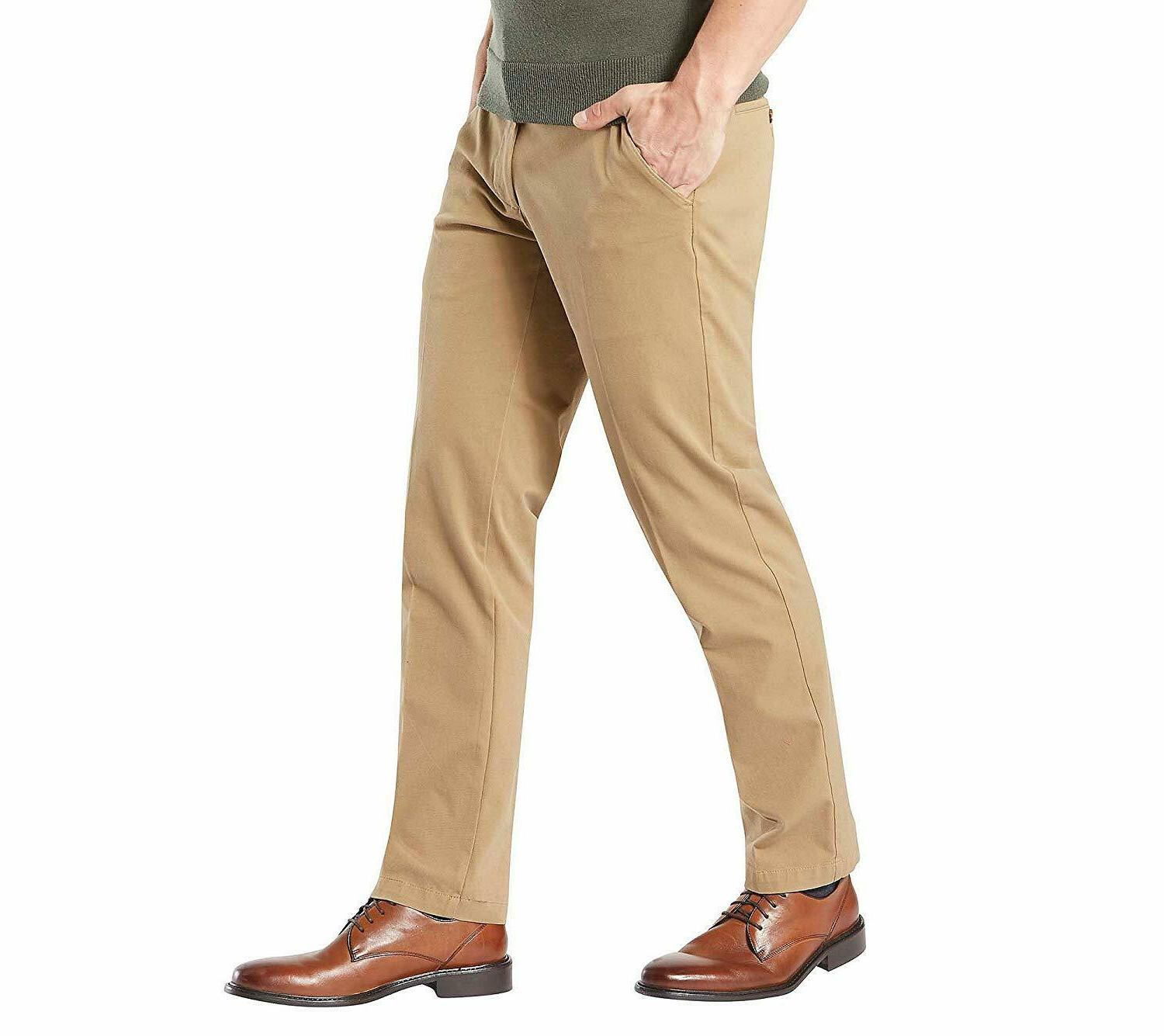 Dockers Men's Straight Workday Khaki Pants Smart Flex