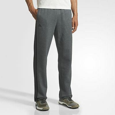 essentials 3 stripes fleece pants men s