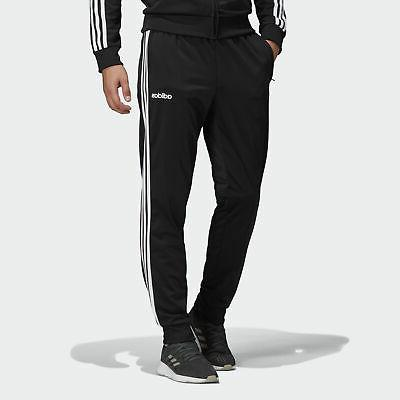 essentials 3 stripes tapered tricot pants men