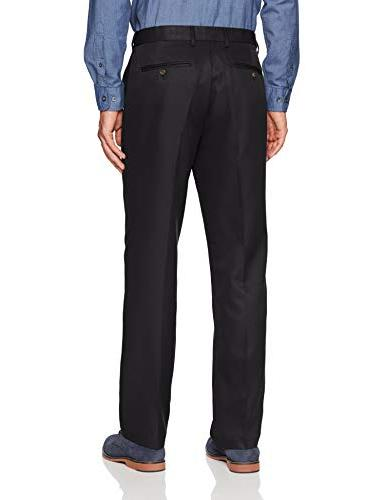 Amazon Essentials Men's Waist Classic-Fit Flat-Front Pants, 32W 29L